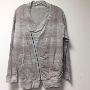 Lululemon gray jacket, sz 12, 56823